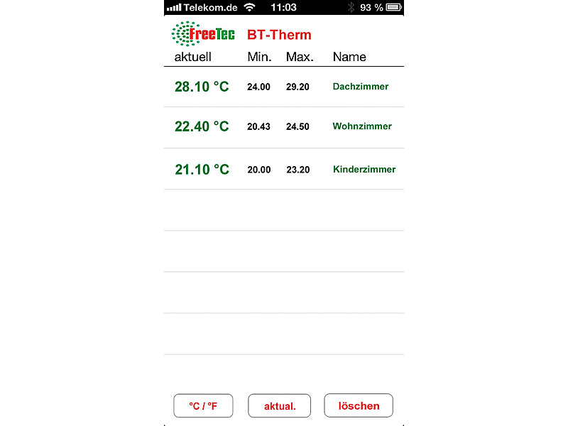 ; Thermo-/Hygrometer-Datenlogger Thermo-/Hygrometer-Datenlogger Thermo-/Hygrometer-Datenlogger
